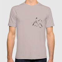 Aikido Series - 1 Mens Fitted Tee Cinder SMALL
