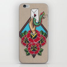 Skeptical of the handsnakes iPhone & iPod Skin