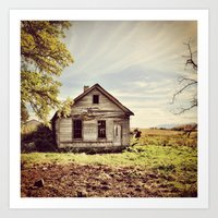 Abandoned & Forgotten Art Print