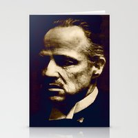 Stationery Card featuring Godfather - I will make him an offer he can't refuse by Bright Enough💡