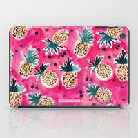 Tropical Pink Pineapple iPad Case