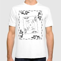 The Great Piggy Bank Rob… Mens Fitted Tee White SMALL