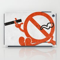 Smoke Break iPad Case