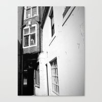 Bashful Alley Canvas Print