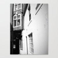 Bashful Alley Canvas Print