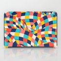 Curved Squares iPad Case
