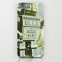 iPhone & iPod Case featuring Robot Wars Pop Art by liberthine01