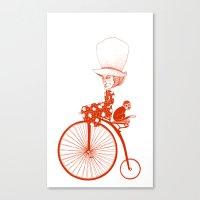 Affenradoma Canvas Print