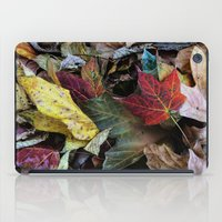 Leaves On The Ground iPad Case