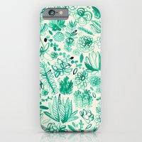 The Wonderful World of Succulents iPhone 6 Slim Case