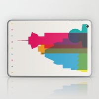Shapes of Vancouver. Accurate to scale. Laptop & iPad Skin