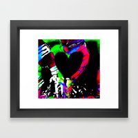 Profits for Charity - Room For A Heart Framed Art Print