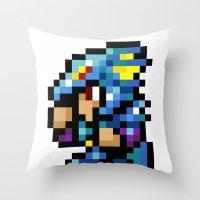 Final Fantasy II - Kain Throw Pillow