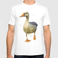 Goose, Golden Goose, Goo… Mens Fitted Tee White SMALL