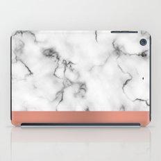 Marble & copper iPad Case