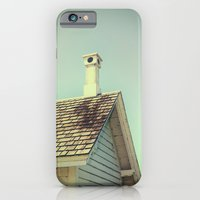 iPhone & iPod Case featuring Summer cottage gable roof by Wood-n-Images