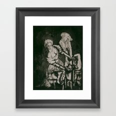 Judith and Holofernes Framed Art Print