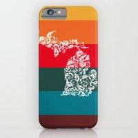 Michigan Colors iPhone 6 Slim Case