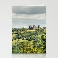 Riber Castle - Matlock  Stationery Cards