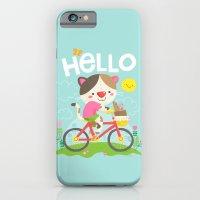 Cat On A Bike iPhone 6 Slim Case