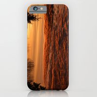 iPhone Cases featuring Golden Sunrise  by Lena Photo Art