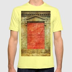 Red Doors Mens Fitted Tee Lemon SMALL