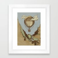 Around The World The Inc… Framed Art Print