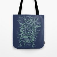 Chateau Ambulant Tote Bag