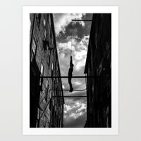 Hanging Man Art Print