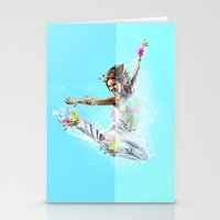Break Through Stationery Cards