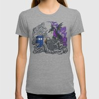 And Now You Will Deal Wi… Womens Fitted Tee Tri-Grey SMALL