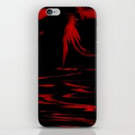 Feathers Red iPhone & iPod Skin