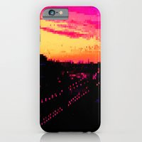 iPhone & iPod Case featuring Train City by Something Funny Is Happening