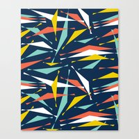Swizzle Stick - Party Girl Canvas Print