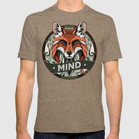 Mind Mens Fitted Tee Tri-Coffee SMALL
