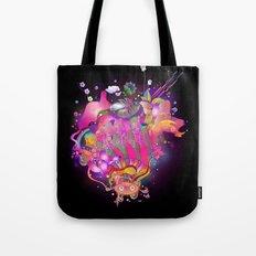 Purplescape Tote Bag