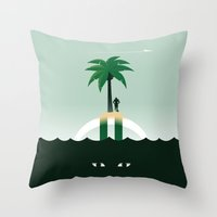 Revis Island Throw Pillow