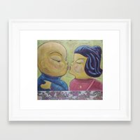 Kisu Framed Art Print