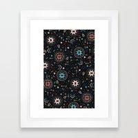 Spirits Of The Stars Framed Art Print