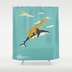 Onward! Shower Curtain