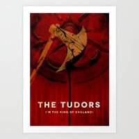 THE TUDORS Art Print