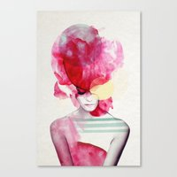Bright Pink - Part 2  Canvas Print