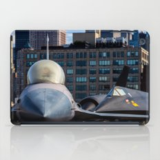 On the Deck of the Intrepid iPad Case