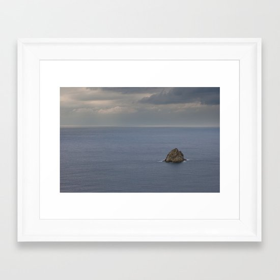 Seascape 230 Framed Art Print