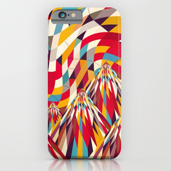 Colorful Mountains iPhone & iPod Case