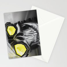 Skull and bones Stationery Cards