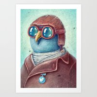 Pilot Captain Ivan Twitt… Art Print