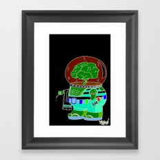 she sells .... Framed Art Print