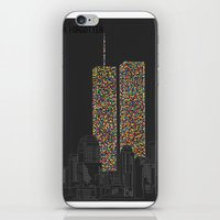 2606 Souls compose The Twin Towers iPhone & iPod Skin