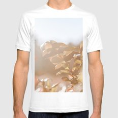 autumn on plantation SMALL White Mens Fitted Tee